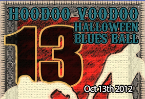 Hoodoo Voodoo Halloween Blues Ball