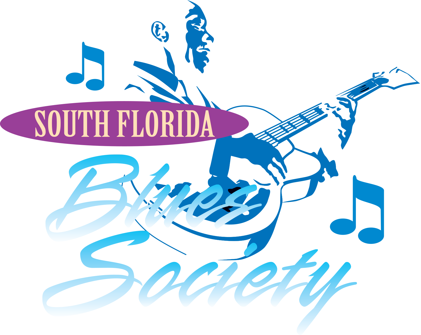 South Florida Blues Society Logo